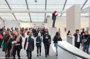 Frieze Art Fair 2018 in London