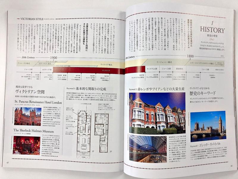 ボンシック20号掲載BABID澤山乃莉子インテリア様式講座