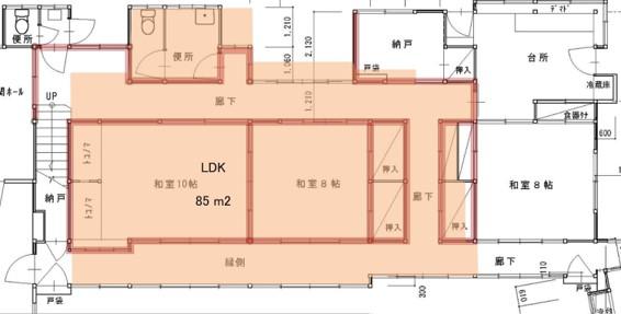 第二キュレーションホテル熱海須藤水苑ビフォア図面