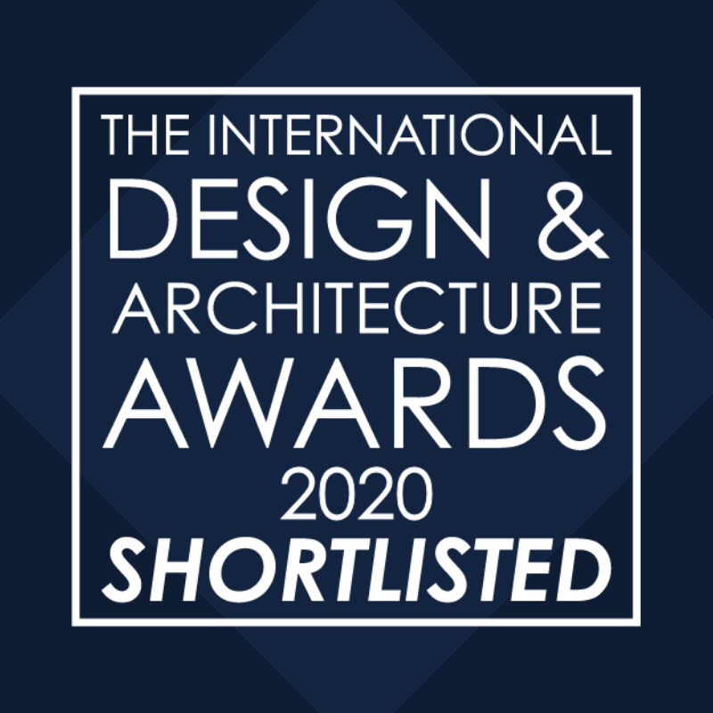 「Living Space – Global Award in The International Design and Architecture Awards 2020」