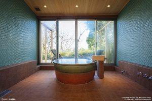 キュレーションホテル第3号 熱海桃山雅苑浴室1