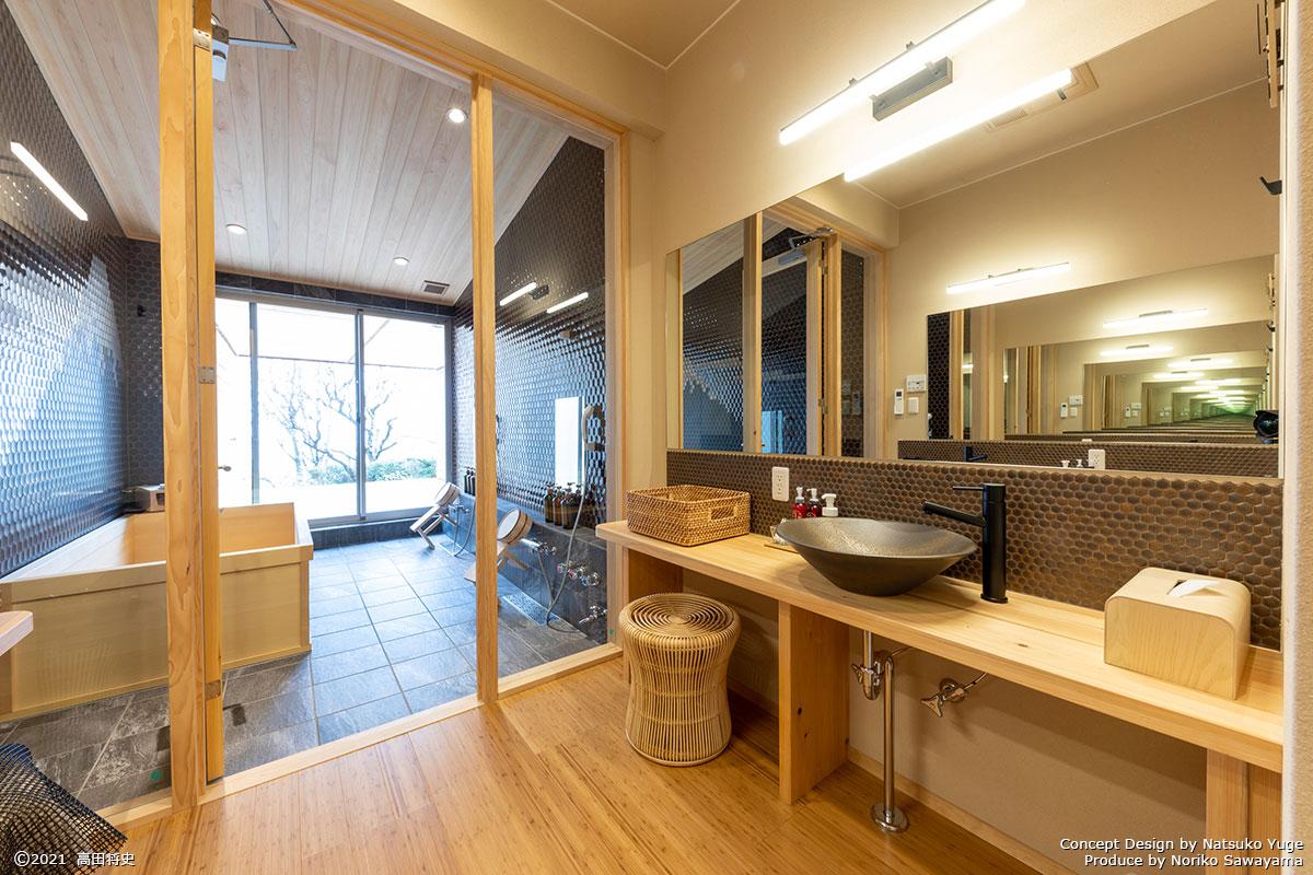 キュレーションホテル第3号 熱海桃山雅苑浴室2