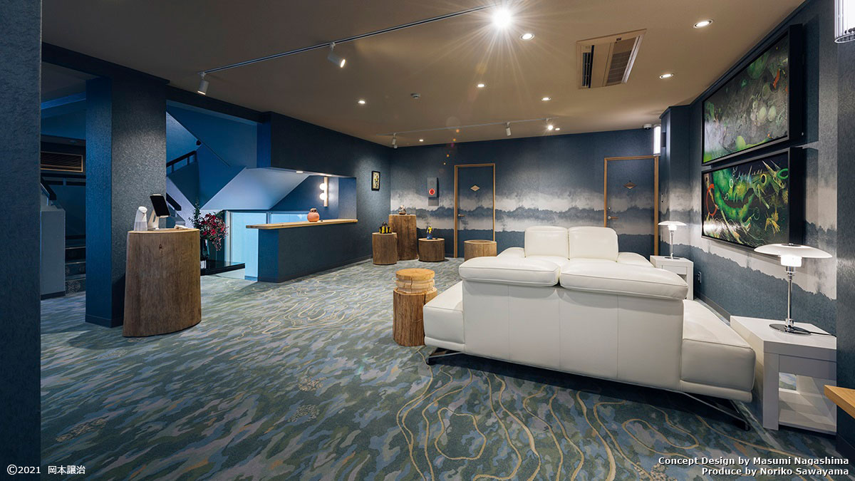 キュレーションホテル第3号 熱海桃山雅苑エントランスギャラリー
