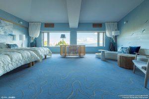 キュレーションホテル第3号 熱海桃山雅苑 客室「MIZUNOKAMISAMA」