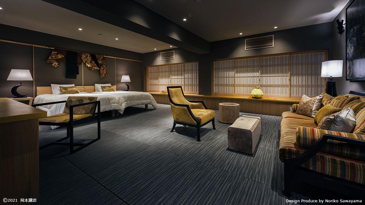 キュレーションホテル第3号 熱海桃山雅苑 客室「NOU」