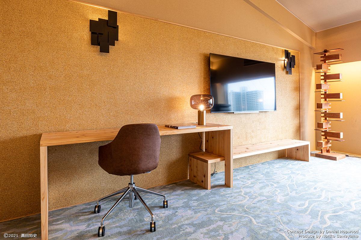 キュレーションホテル第3号 熱海桃山雅苑 客室「YAMANOKAMISAMA」